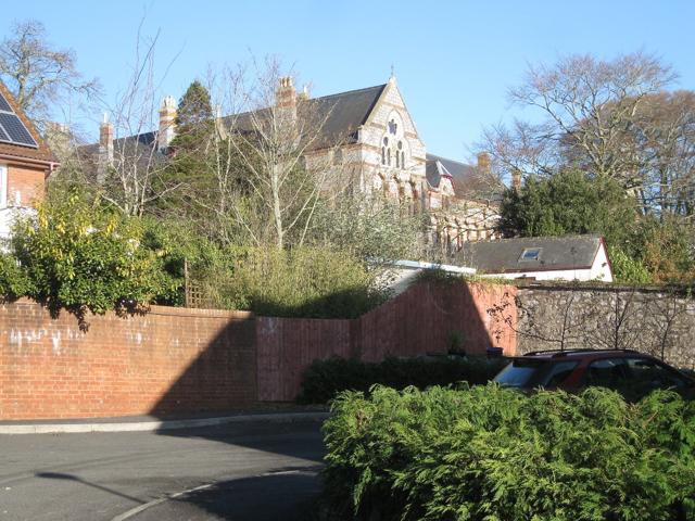 Garden boundaries, Highgrove Park, Teignmouth