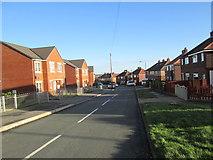 SE1321 : Hanson Road - Highfield Road by Betty Longbottom