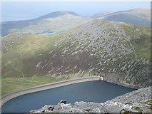SH6161 : Marchlyn Mawr (Reservoir) and Carnedd y Filiast by Peter S