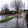 SJ9594 : Flash flooding on Dowson Road by Gerald England