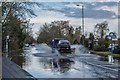 TQ2844 : Bonehurst Road flood by Ian Capper