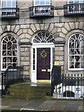 NT2674 : Door, Royal Terrace by Richard Webb