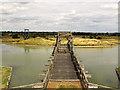 TQ6575 : Tilbury Fort: bridge to the Ravelin by Stephen Craven