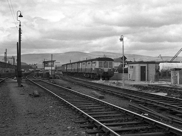 Queen's Quay station - station to Ballymacarrett Junction (2)