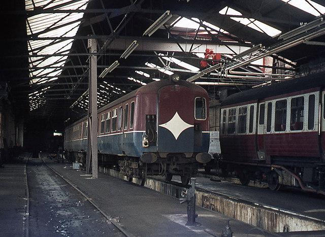 Queen's Quay station - former BCDR workshops (interior)