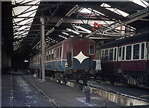 J3574 : Queen's Quay station - former BCDR workshops (interior) by The Carlisle Kid