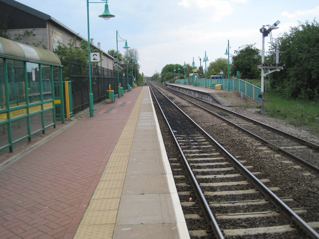 Creswell railway station, Derbyshire