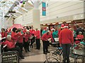 SJ9494 : Yew Tree Singers in Clarendon Mall by Gerald England