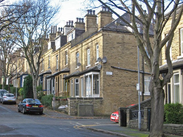 Shipley -houses at Birklands Road /... © Dave Bevis :: Geograph Britain and  Ireland