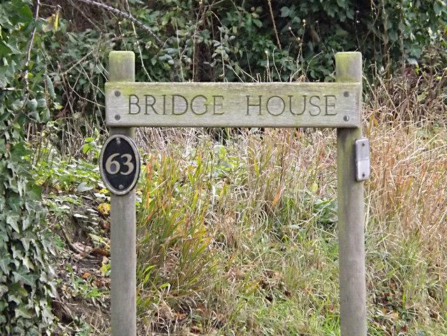 Bridge House sign