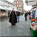 SJ8990 : The Vicar on the Marketplace by Gerald England