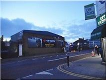 TQ2284 : Wembley Tyres on Dudden Hill Lane by David Howard
