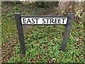 TL2755 : East Street sign by Adrian Cable