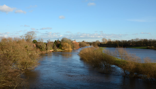 River Ure in flood