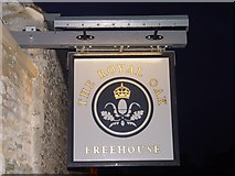 ST8993 : Royal Oak Inn Sign Tetbury by Paul Best