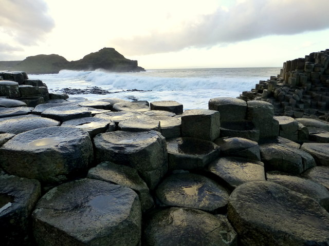 Rock formation, Giant's Causeway