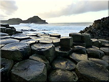 C9444 : Rock formation, Giant's Causeway by Kenneth  Allen