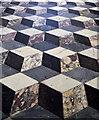TA0339 : Floor Tiles, Beverley Minster by Julian P Guffogg