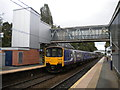 SJ9186 : Train at Hazel Grove station by Richard Vince