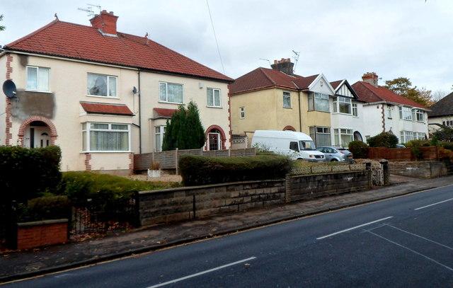 Canford Lane houses, Westbury-on-Trym, Bristol