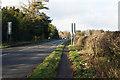 SP3183 : Tamworth Road towards Corley by Ian S