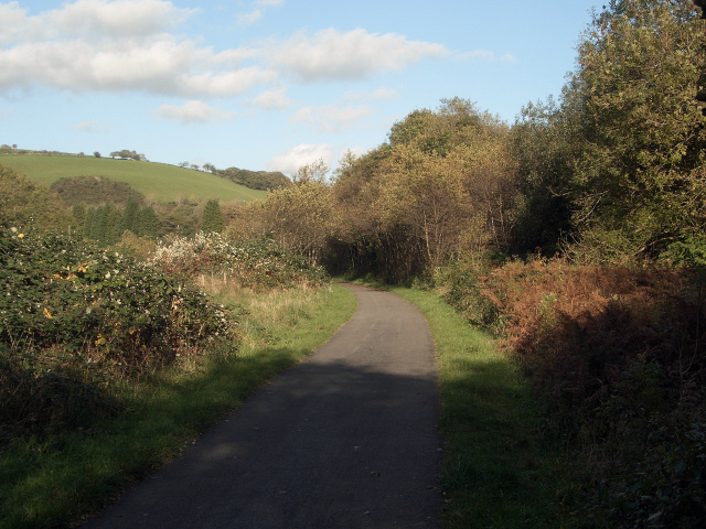 National Cycle Route 4 just south of Blackmill