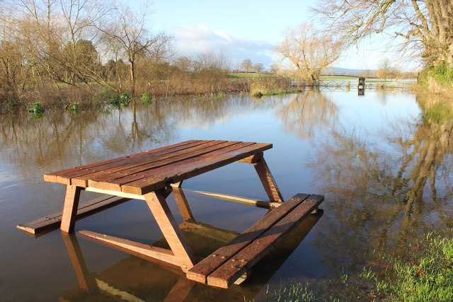 The River Dee in Flood