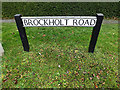 TL3058 : Brockholt Road sign by Adrian Cable
