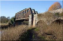 SP1853 : Stannals Bridge, Greenway, Stratford-upon-Avon by David P Howard