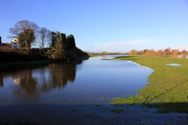 River Dee Flood Plain at Holt