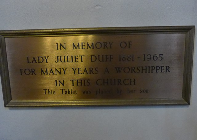 St Mary and St Nicholas, Wilton: memorial (8)