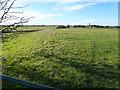 TF1907 : Enclosure on Decoy Road, Newborough by Richard Humphrey
