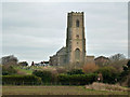 TG3731 : Happisburgh church by Robin Webster