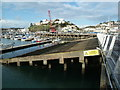SX9163 : D-Day embarkation 'hard' - Torquay by Chris Allen
