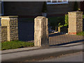 SE6030 : Milestone on the A19 Doncaster Road, Brayton by Alan Murray-Rust