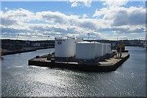 NJ9505 : Point Law, Aberdeen Harbour by Richard Webb