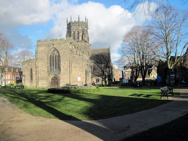 St. Mary's Collegiate Church, Stafford