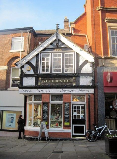 Ye Old Shop, Macclesfield