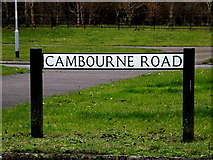 TL3160 : Cambourne Road sign on Cambourne Road by Adrian Cable