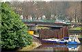 J3371 : Revetment works, River Lagan, Belfast (4 in 2013) by Albert Bridge