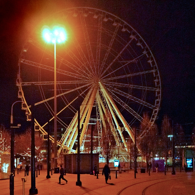 The Manchester Wheel, Piccadilly Gardens