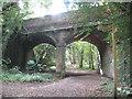 SU3838 : Chilbolton: Former Sprat and Winkle railway bridge by Nigel Cox