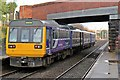 SJ4892 : Northern Rail Class 142, 142071, Eccleston Park railway station by El Pollock