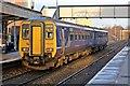 SJ4792 : Northern Rail Class 156, 156466, Prescot railway station by El Pollock