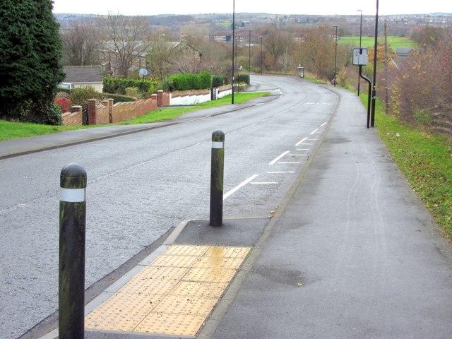 Walbottle Road, north of Dene Terrace