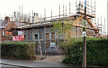 "J3774 : The ""White Lodge"", Belfast (6 in 2013) by Albert Bridge"