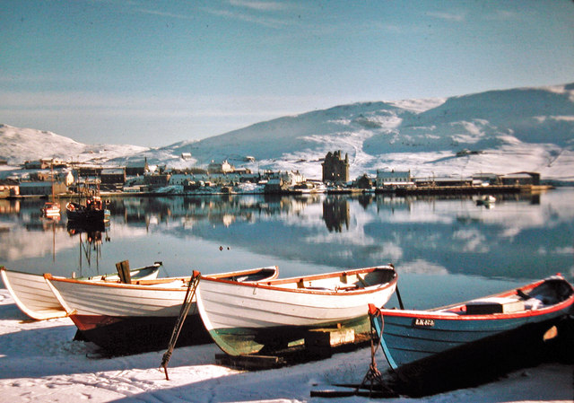Scalloway in the snow