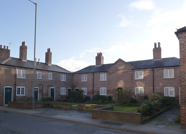 Almshouses, Gowthorpe - eastern court