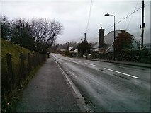 SH7042 : Ffestiniog on a wet New Year's Day by Barry Hunter