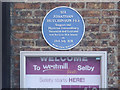SE6132 : Blue plaque on Quay House by Alan Murray-Rust